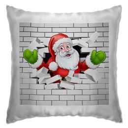 """Подушка """"Санта Клаус"""" - новый год, санта клаус, 2019"""