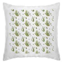 """Подушка """"ландыши"""" - весна, лес, букет, белые, ландыши"""