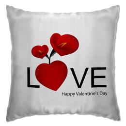 """Подушка """"Влюбленным"""" - любовь, love, день святого валентина, 14 февраля"""