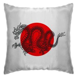 """Подушка """"dreams of dragons"""" - дракон, dragon, япония, japan"""