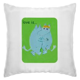 """Подушка """"Любовь и нежность"""" - любовь, любить, взаимность, муммики"""