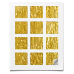 """Наклейки квадратные 5x5см """"Наклейки Краска"""" - текстура"""