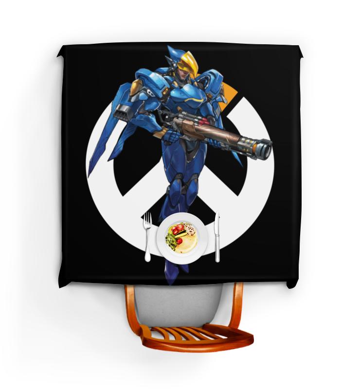 Скатерть квадратная Printio Pharah overwatch / фарра овервотч футболка wearcraft premium slim fit printio pharah overwatch фарра овервотч