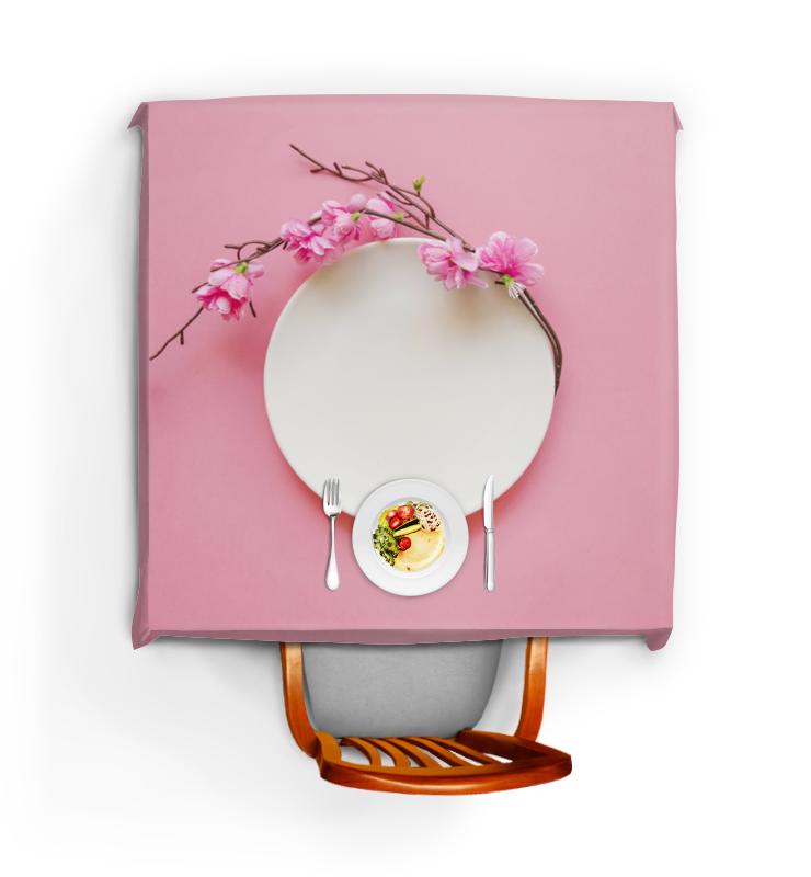 Printio Цветущая ветка круглый фарфоровый подсвечник цветущая ветка миндаля 15 см диам 970665