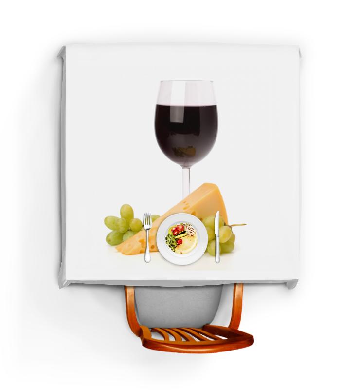 Скатерть квадратная Printio Бокал вина именной бокал для вина лучший муж на свете
