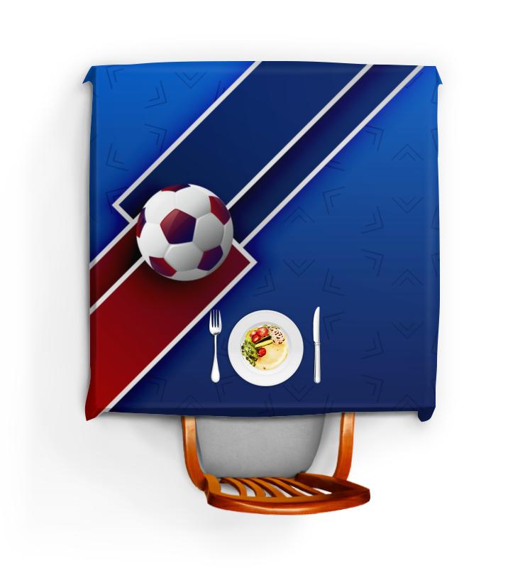 все цены на Скатерть квадратная Printio Футбол онлайн