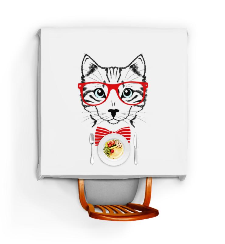Скатерть квадратная Printio Кошка андрей дашков домашнее животное