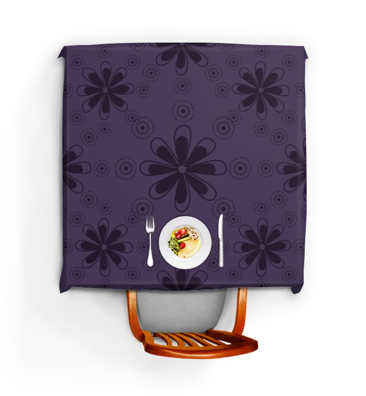Скатерть квадратная Printio Фиолетовая скатерть квадратная printio японский узор