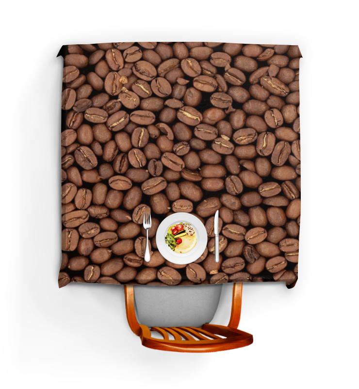 где купить Скатерть квадратная Printio Кофейные зерна по лучшей цене