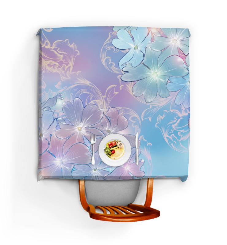 Скатерть квадратная Printio Нежные цветы блокнот кофемана нежные цветы
