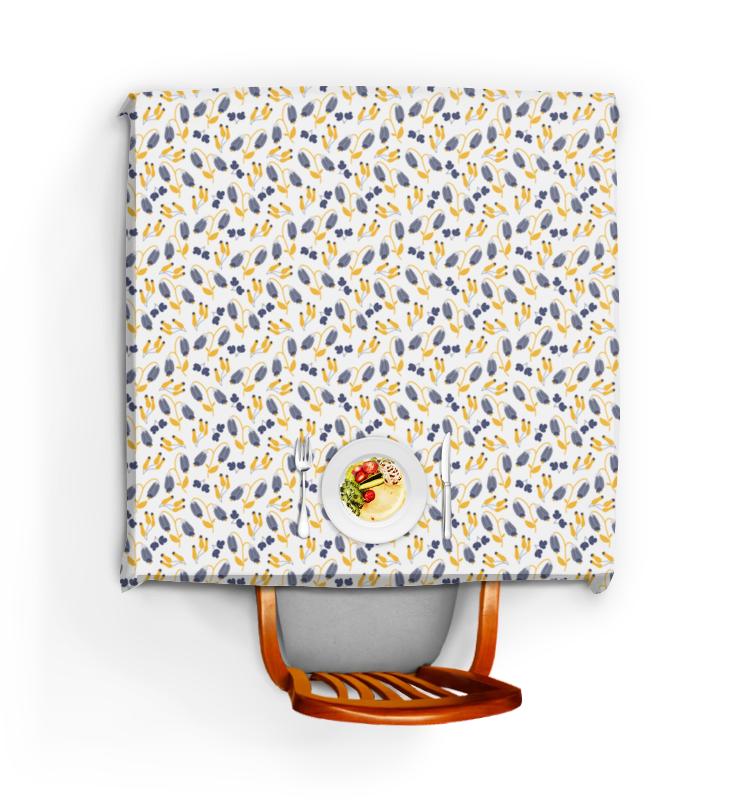 Скатерть квадратная Printio легкий ветерок из серии полуденный луг костюмы апрель футболка леггинсы летний луг