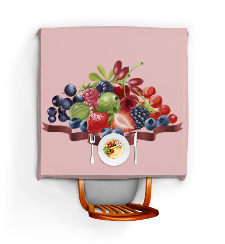 Скатерть квадратная Printio Разнообразие ягод сибирские отруби хрустящие сила ягод 100 г