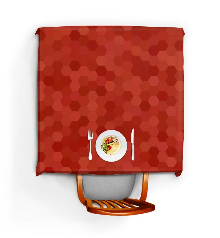 Скатерть квадратная Printio Цветные соты цена и фото