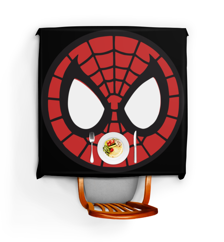 Скатерть квадратная Printio Spider-man / человек-паук spider man игрушка фигуркачеловек паук и мотоцикл