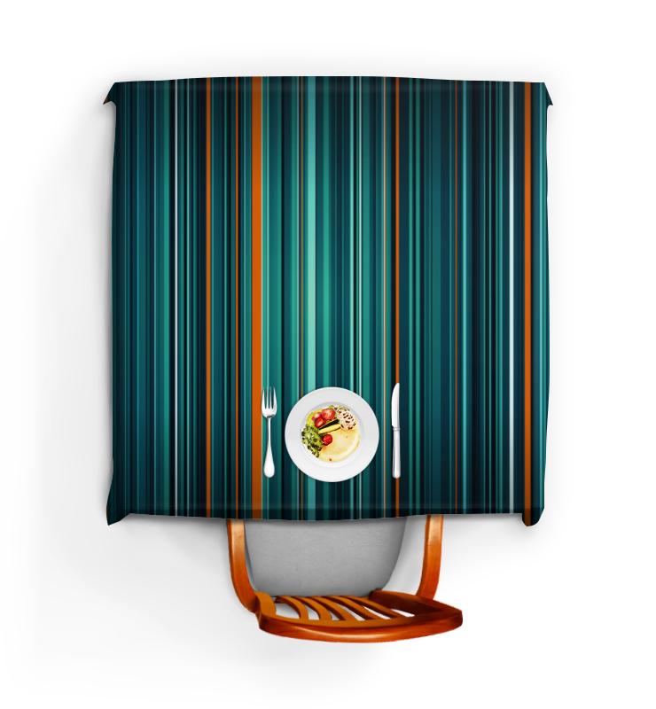Скатерть квадратная Printio Полосатая абстракция скатерть квадратная printio разноцветная абстракция