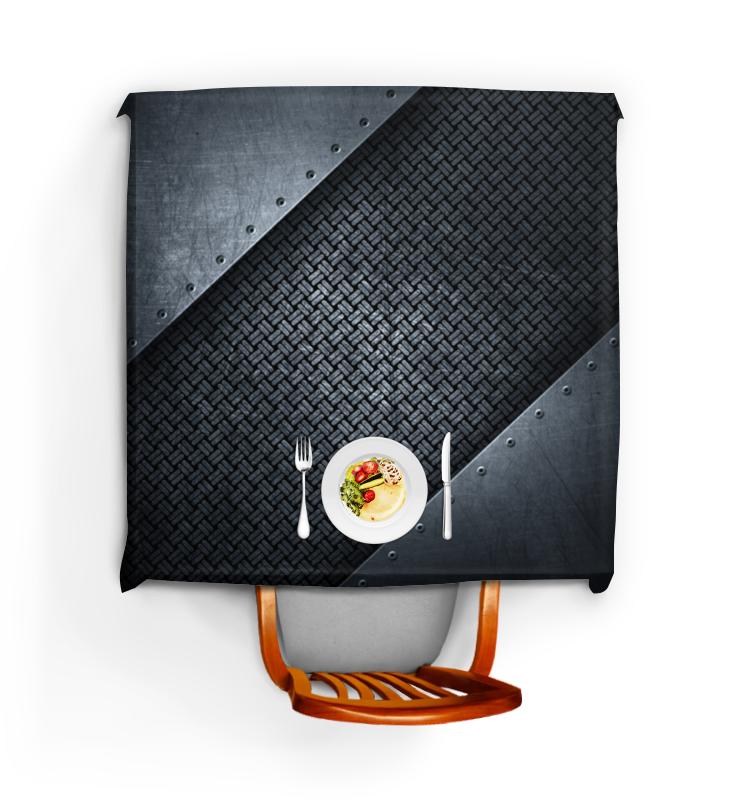 Скатерть квадратная Printio Металлический стол