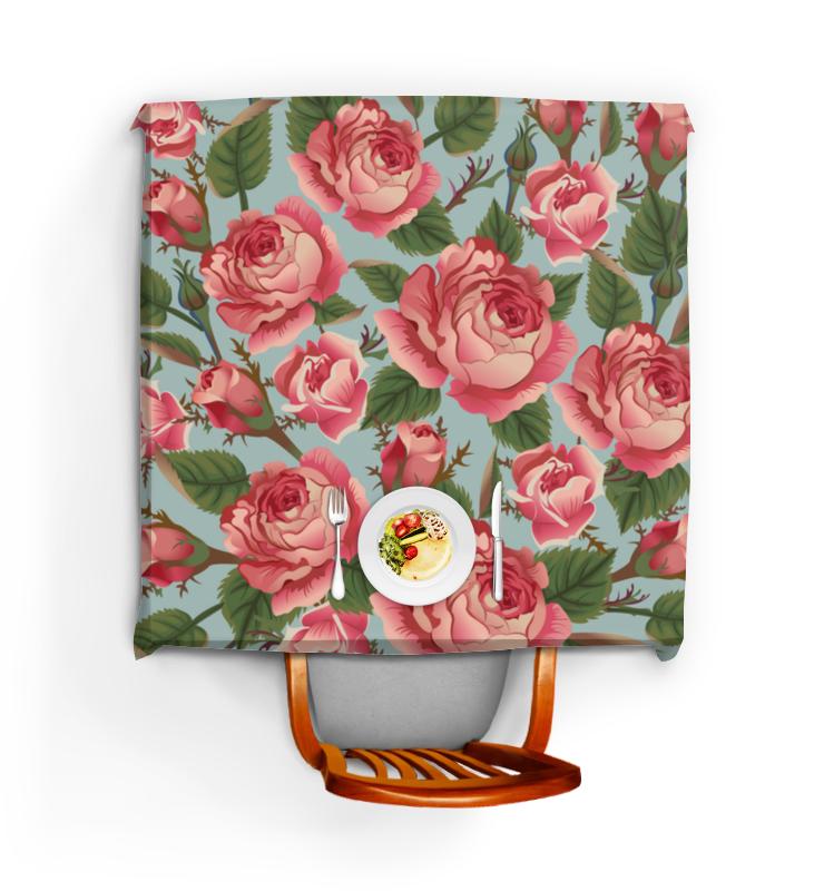 Скатерть квадратная Printio Розалия розалия рупова от маковца до редриковых гор