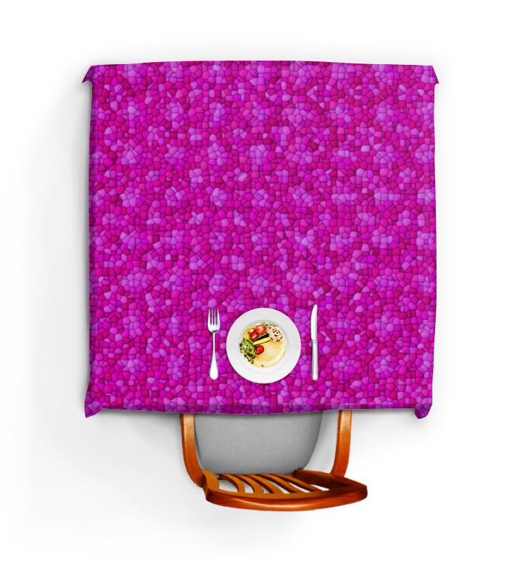Скатерть квадратная Printio Purple скатерть quelle эго 1024295 120х150