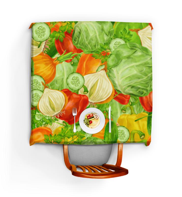 Скатерть квадратная Printio Овощная maisto машинка slickers fire dept цвет красный