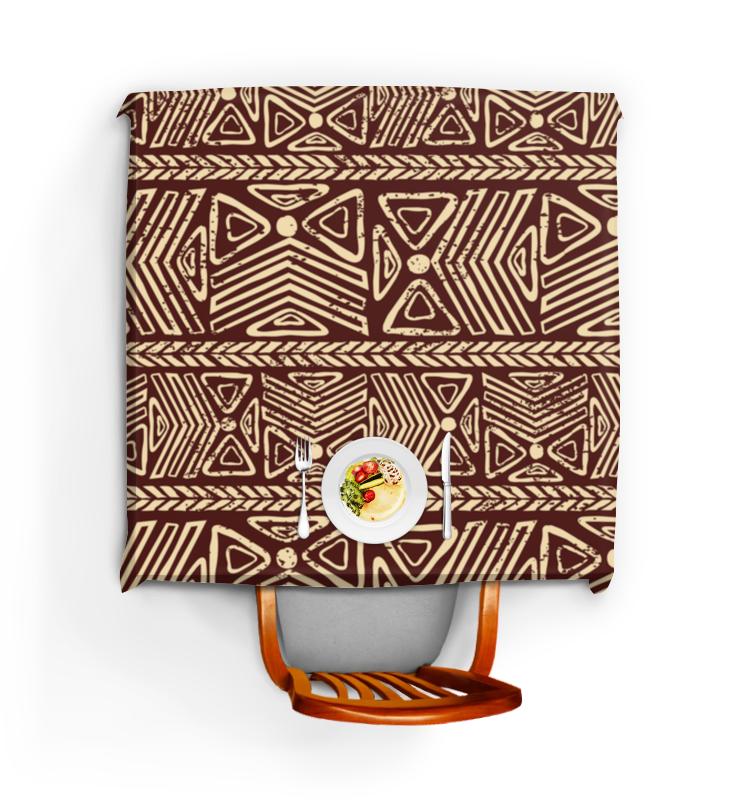 Скатерть квадратная Printio Абстрактная шоколадка 35х35 printio абстрактная