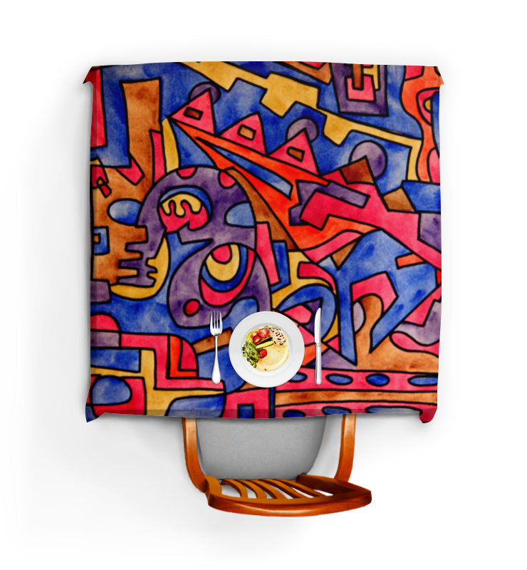Скатерть квадратная Printio Cbm`db==[]0` niko 2pcs chrome drum skin tuning tuner key keychain square 5 4mm for snare drum jazz drum set kit
