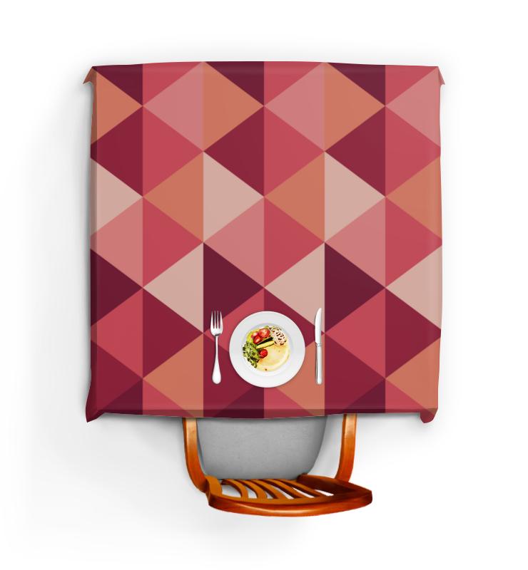 Скатерть квадратная Printio Геометричиская абстракция скатерть квадратная printio разноцветная абстракция