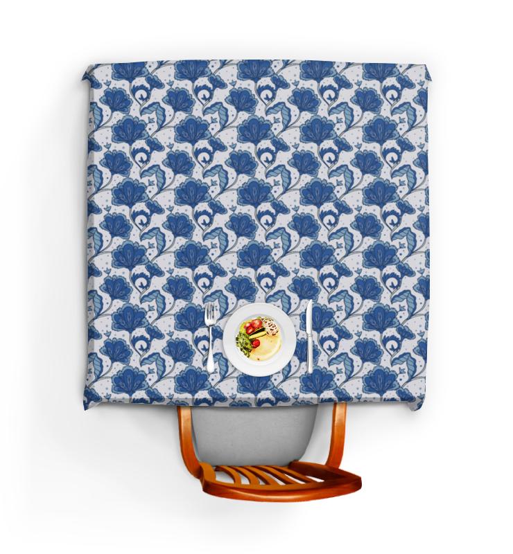 Скатерть квадратная Printio Цветочный узор скатерть квадратная printio японский узор