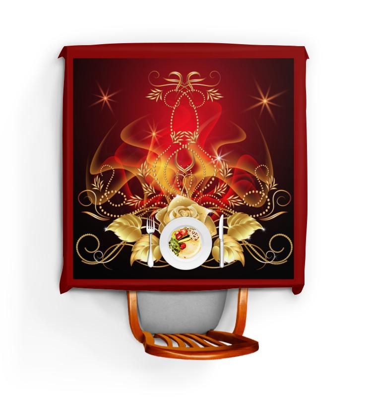 Фото - Скатерть квадратная Printio Золотая роза сумка на молнии маленький принц розы на красном фоне 37 38см