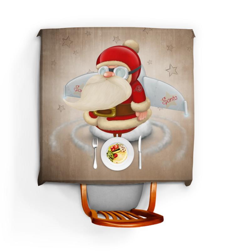 Скатерть квадратная Printio Санта цена и фото