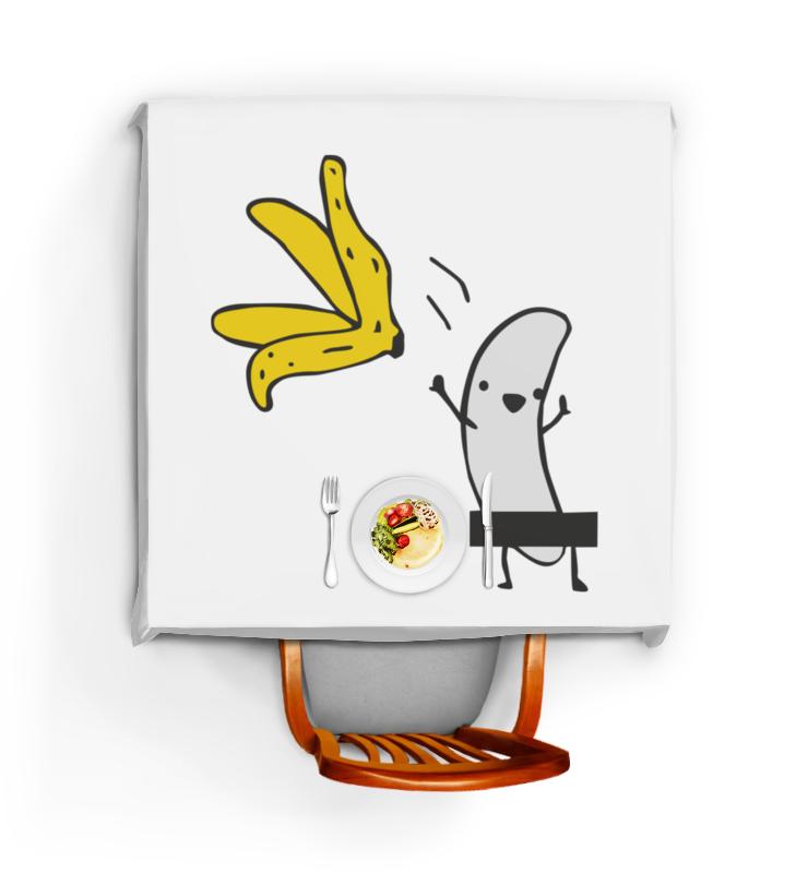 Скатерть квадратная Printio Стриптиз банана стриптиз перед веб камерой смотреть