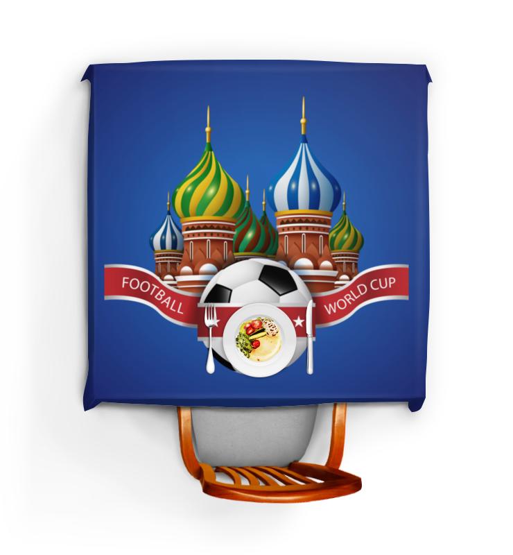 Скатерть квадратная Printio Футбол цена и фото