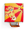 "Скатерть квадратная ""Sunset Shimmer Color Line"" - sun, cutiemark, sunset shimmer"