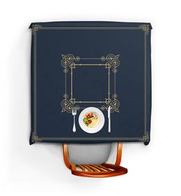 """Скатерть квадратная """"Аристократическая"""" - узор, рисунок, стильный, классический, аристократический"""