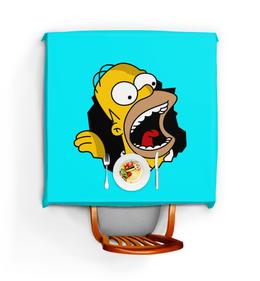 """Скатерть квадратная """"Гомер Симпсон"""" - simpsons, homer, прикольные, гомер симпсон, симпспоны"""