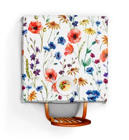 """Скатерть квадратная """"Полевые цветы"""" - красиво, цветы, природа, полевые цветы"""