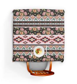"""Скатерть квадратная """"Цветы"""" - орнамент, узор, этнический, цветок, цветы"""