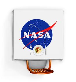 """Скатерть квадратная """"NASA SPACE"""" - space, космос, nasa, наса"""