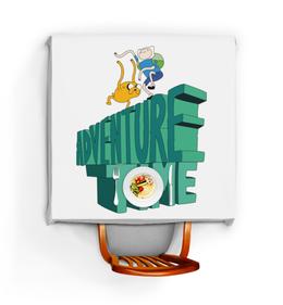 """Скатерть квадратная """"Время приключений"""" - adventure time, время приключений, джейк, финн"""