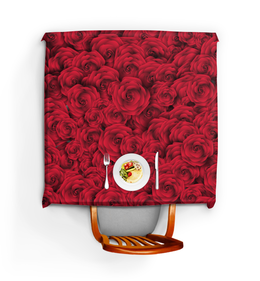 """Скатерть квадратная """"Розочки"""" - красиво, цветы, подарок, розы"""