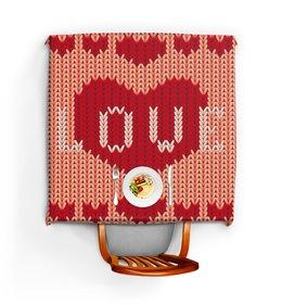 """Скатерть квадратная """"Любовь"""" - сердце, любовь, 8 марта, подарок, день св валентина"""