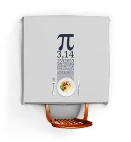 """Скатерть квадратная """"Число Пи"""" - математика, алгебра, гик, число, пи"""