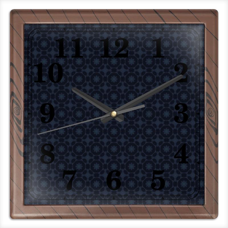 Часы квадратные из пластика (под дерево) Printio Radar часы квадратные из пластика под дерево printio the nexus