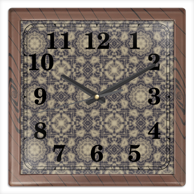 Фото - Printio Noisy часы квадратные из пластика под дерево printio helicologie