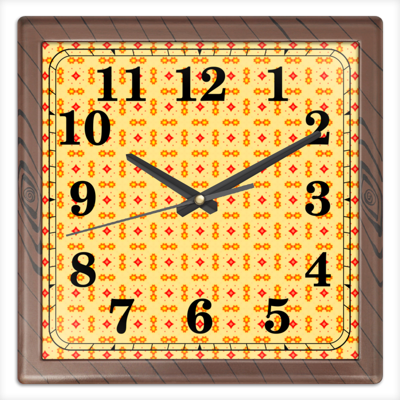 Фото - Printio Haiku часы квадратные из пластика под дерево printio helicologie