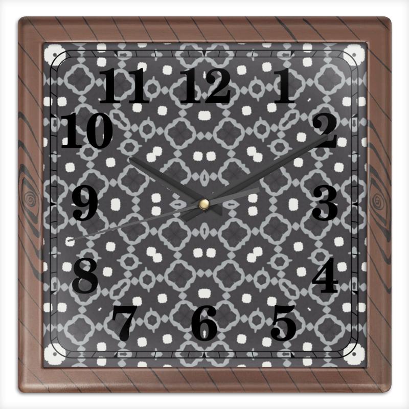 Часы квадратные из пластика (под дерево) Printio Returnal часы квадратные из пластика под дерево printio россия
