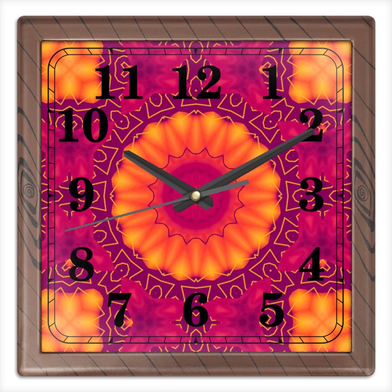 Часы квадратные из пластика (под дерево) Printio Privacy часы квадратные из пластика под дерево printio россия
