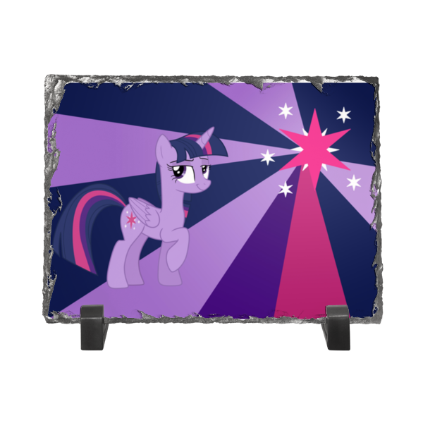 Каменная рамка Printio Twilight sparkle color line
