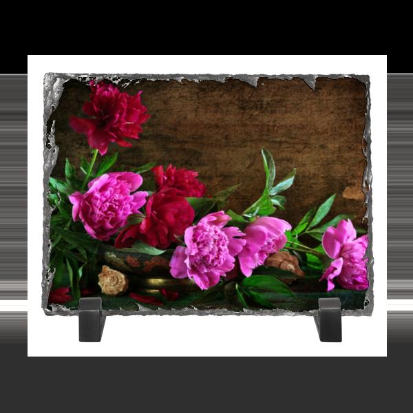 Каменная рамка Printio Цветы