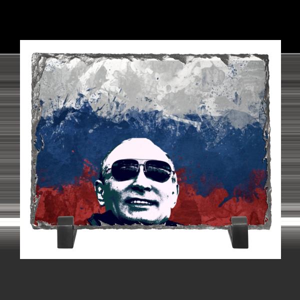 Каменная рамка Printio Путин