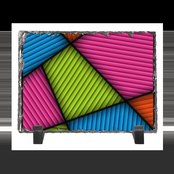 Каменная рамка Printio Цветная абстракция